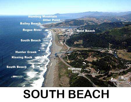 South Beach Park - Gold Beach Oregon
