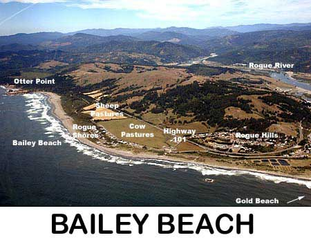 Bailey Beach - Gold Beach Oregon