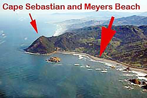 Cape Sebastian - Meyers Beach Gold Beach Oregon
