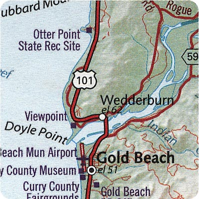 Otter Point State Park - Gold Beach oregon