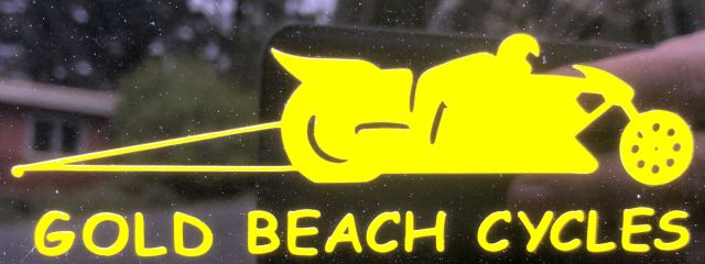 Gold Beach Cycles Logo