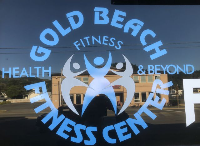 Gold Beach Fitness Sign Repair